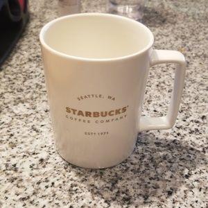 Gold Foil Starbucks Mug